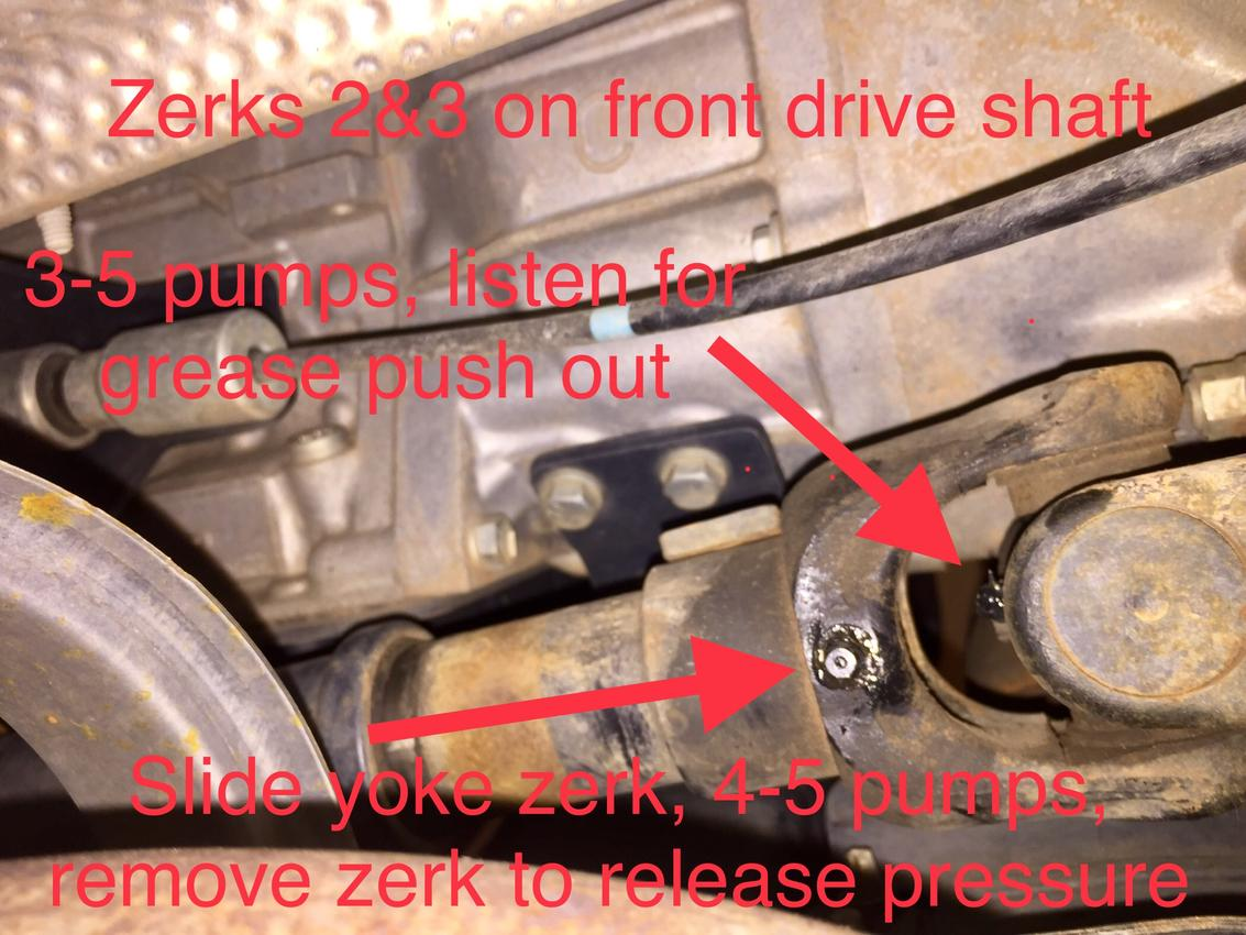 HOW-TO: grease your drive shaft - Toyota 4Runner Forum - Largest