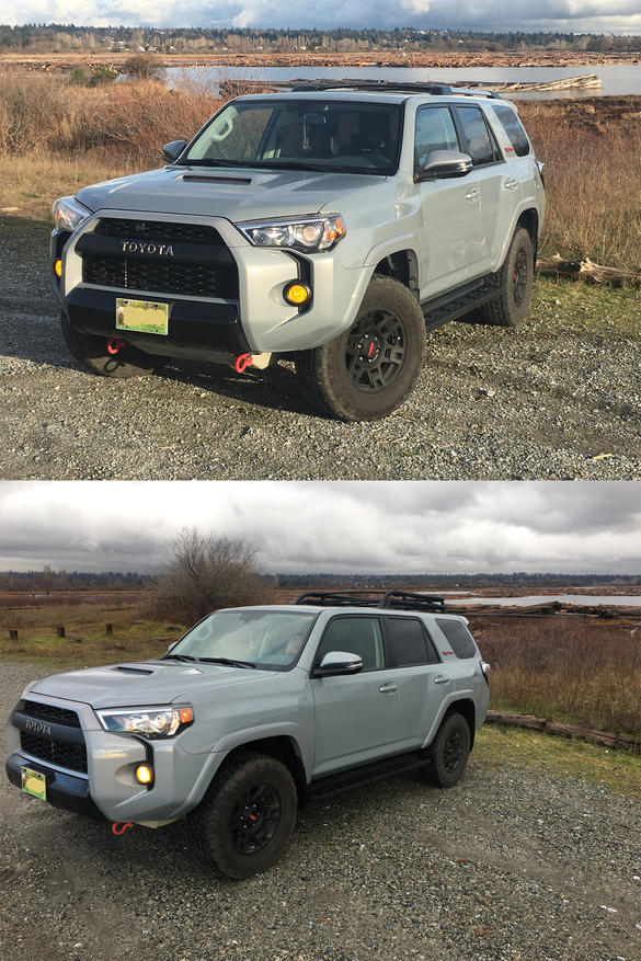 2019 voodoo trd pro roof rack installed on 2017 pro cement toyota 4runner forum largest. Black Bedroom Furniture Sets. Home Design Ideas