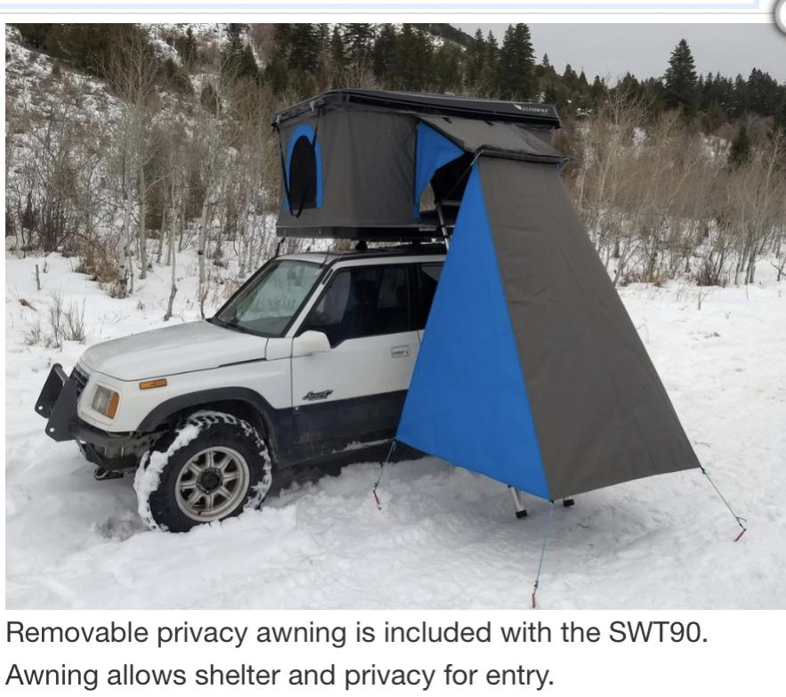 Silverwing Hard Shell Rooftop Tent Toyota 4runner Forum Largest 4runner Forum