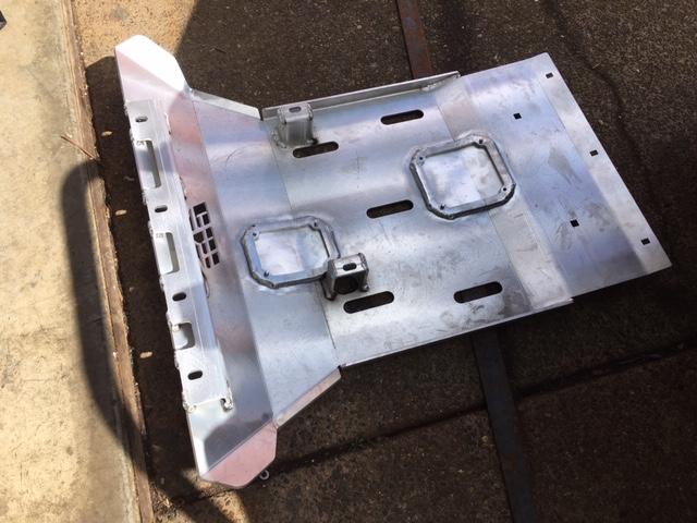 CBI Fabrication - 5th Gen Skid Plates-front-skid-jpg
