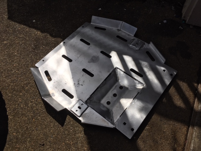 CBI Fabrication - 5th Gen Skid Plates-rear-skid-jpg