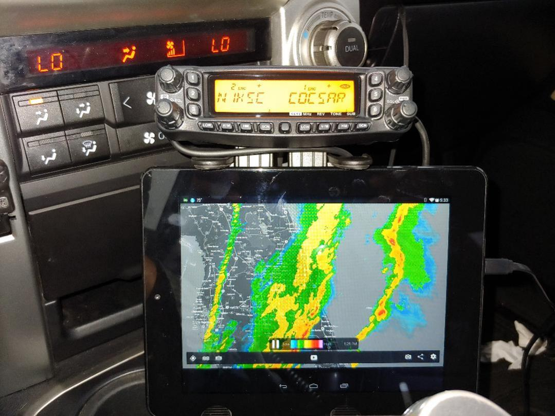 What did you do to/in your 5th Gen today?!-yaesu-tablet-mount-jpg