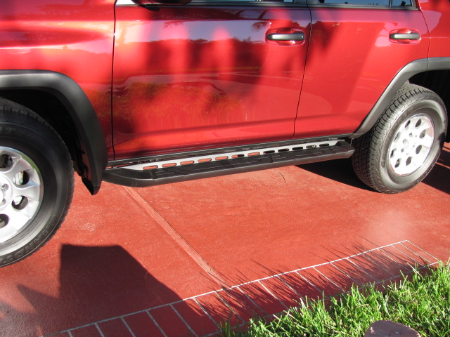 4Runner Running Boards >> Trail Edition OEM Running Boards - Page 3 - Toyota 4Runner ...