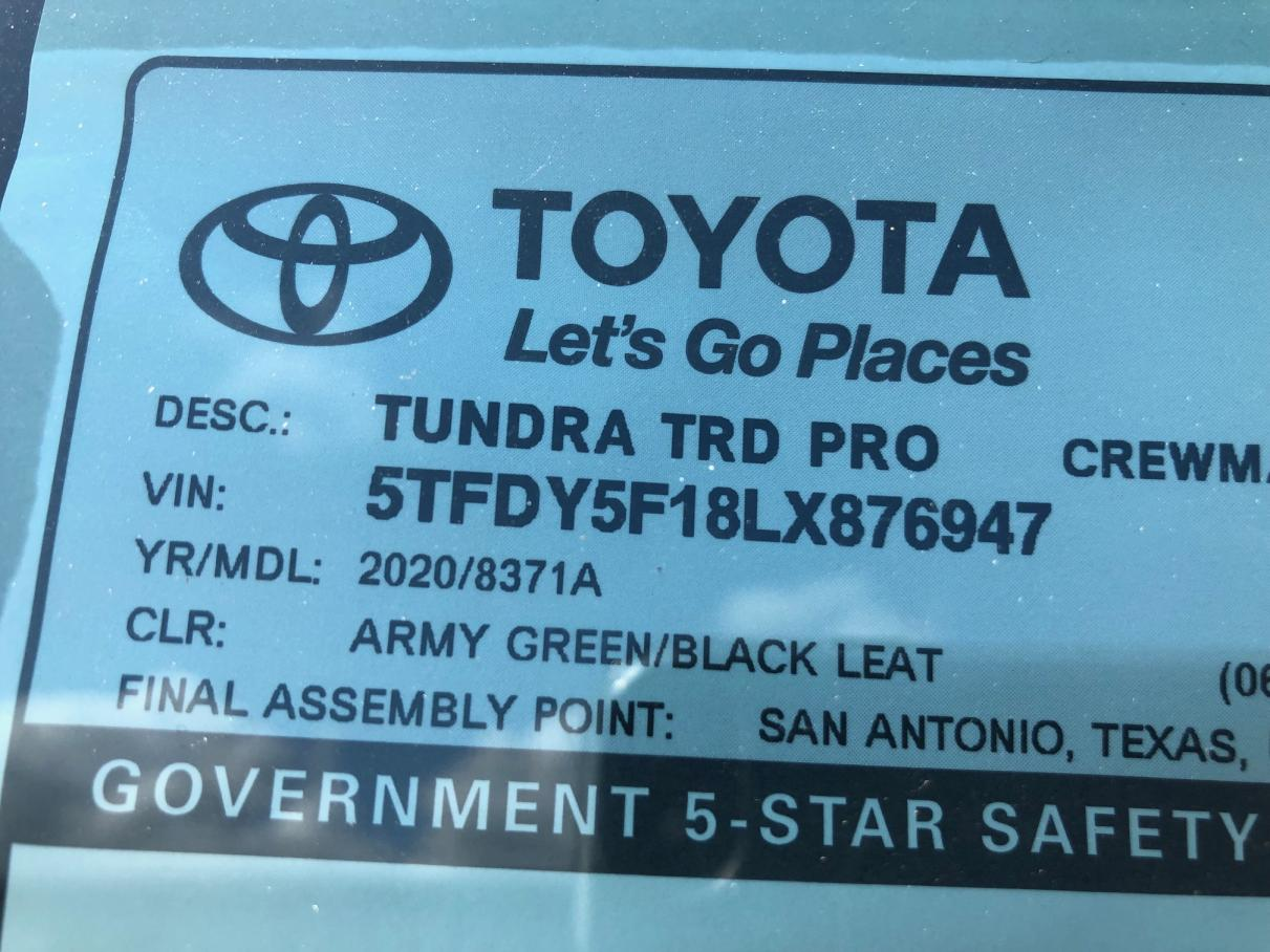 How I got the 1st Army Green TRD Pro, why I paid them my k!, and more...-trd-pro-1-jpg