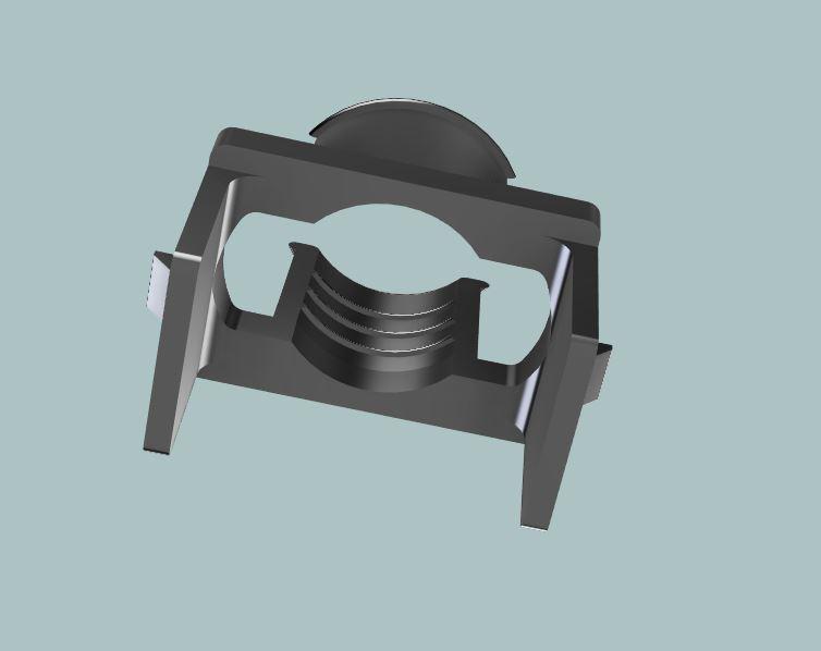 Custom hidden mic bracket for aftermarket head unit-4-jpg