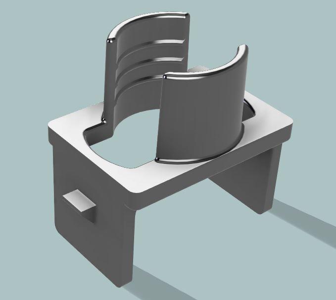 Custom hidden mic bracket for aftermarket head unit-5-jpg