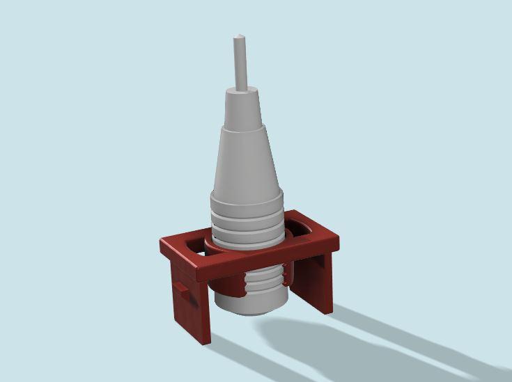 Custom hidden mic bracket for aftermarket head unit-1-jpg