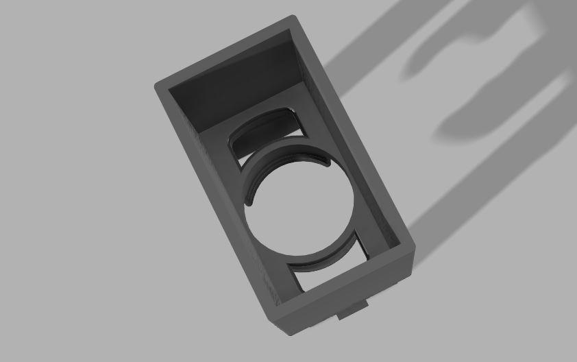 Custom hidden mic bracket for aftermarket head unit-6-1-2-jpg