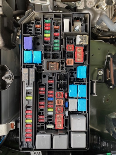 2020 Fuse Box Diagrams  - Toyota 4runner Forum