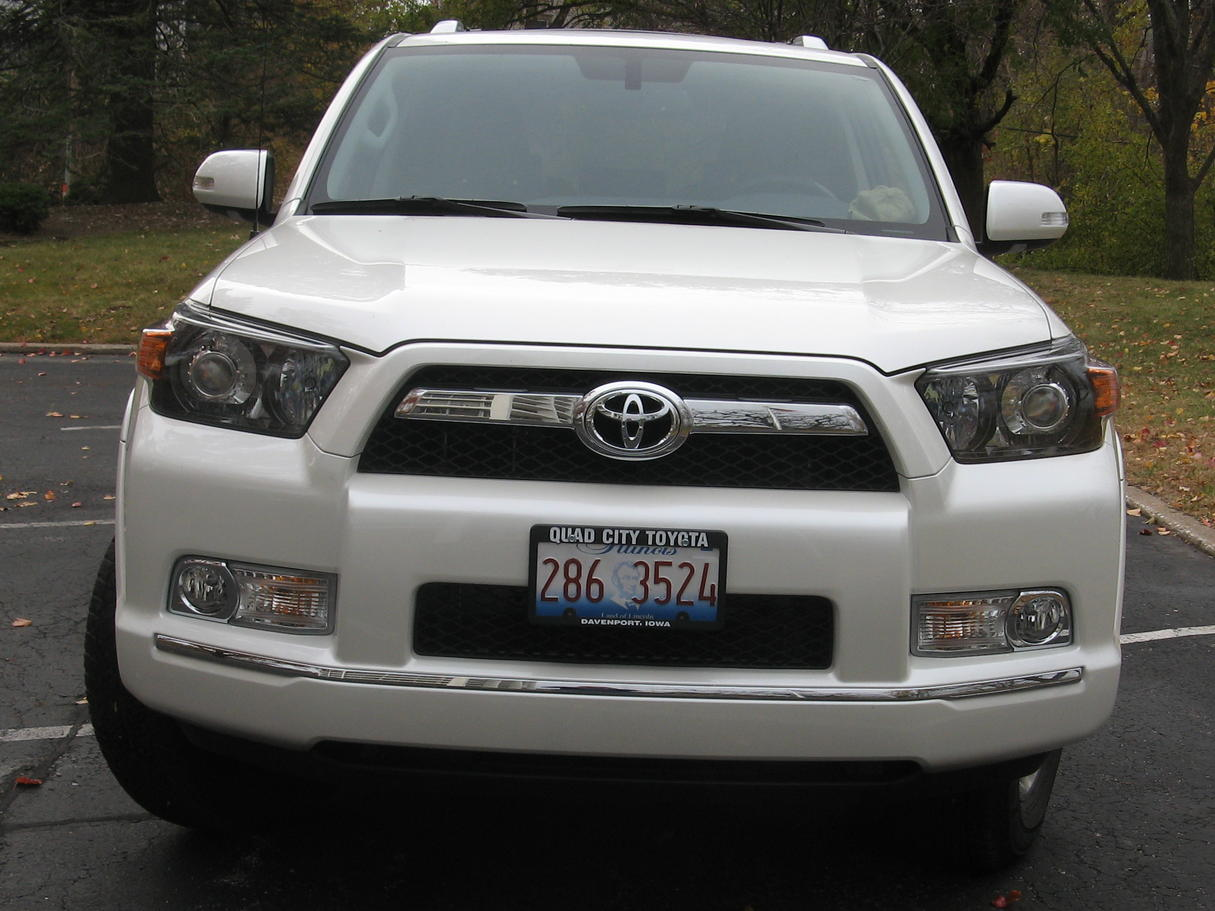 Fixed My Cheesy Looking License Plate Toyota 4runner