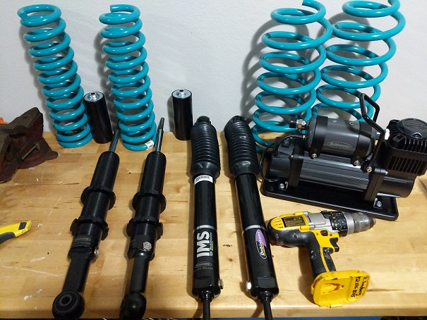 Dobinsons IMS Struts and Shocks - Adjustable Height Monotubes - 5th Gen 4Runners-shocks-jpg