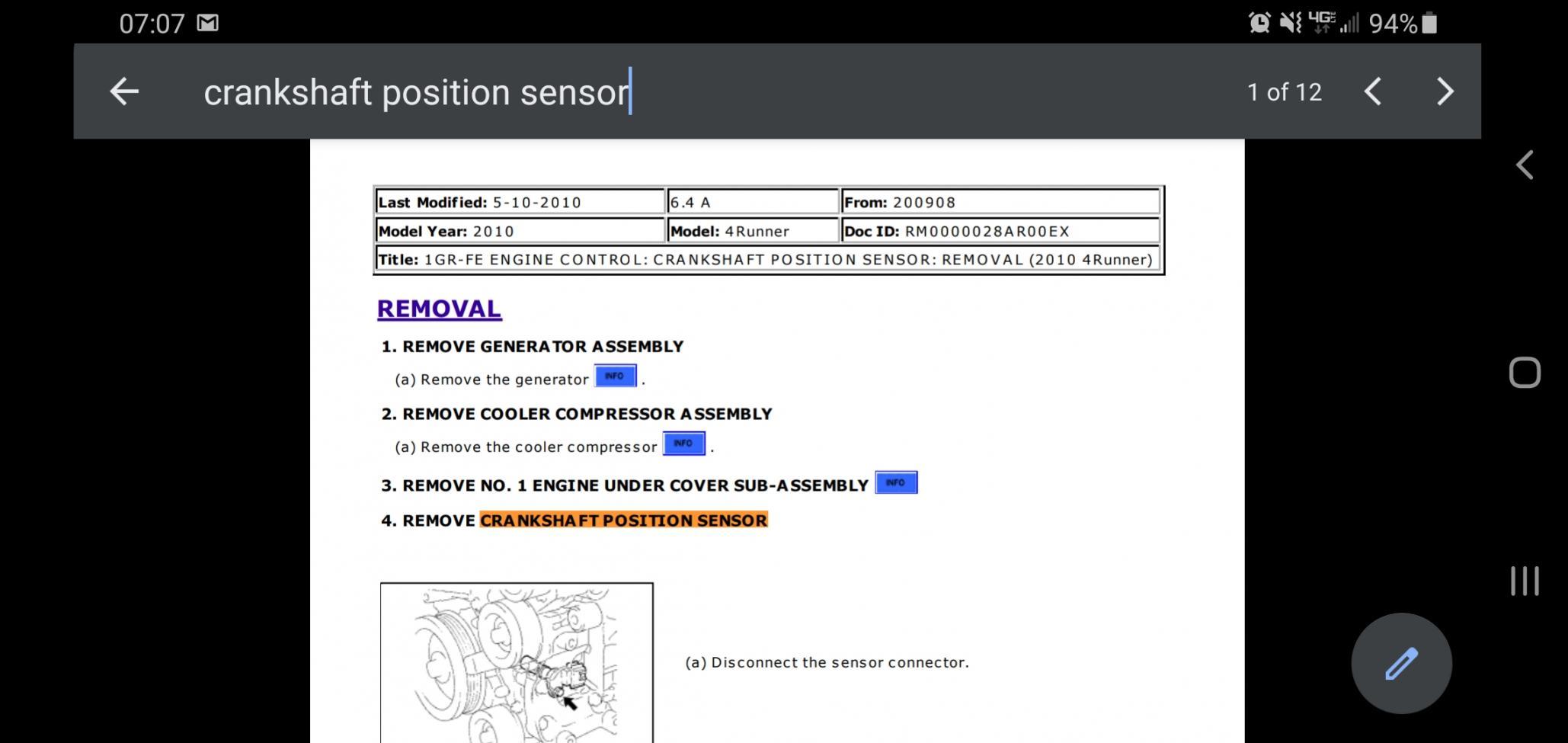 Where is the crankshaft position sensor-screenshot_20200423-070737_drive-jpg