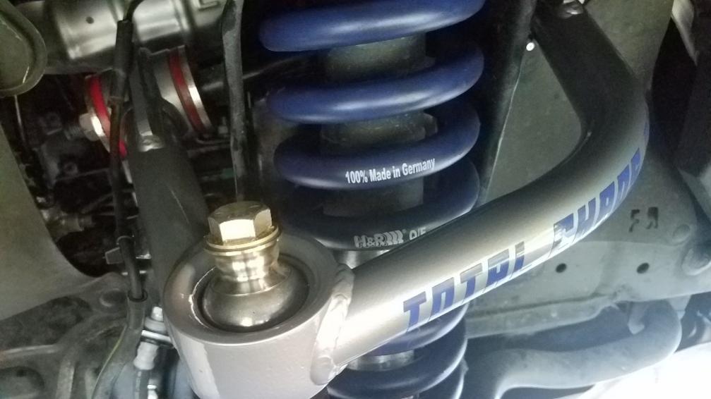 H&R Raising springs with Total Chaos UCA installed-ta-hr1-jpg