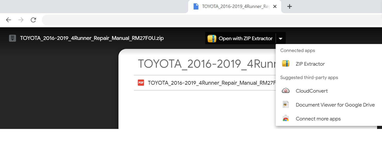 TOYOTA 2016-2019 4Runner Repair Manual RM27F0U-zip-extractor-jpg