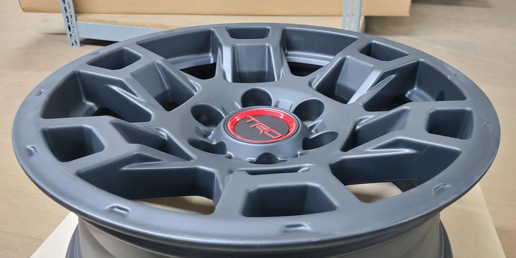Pictures Of The New 2021 Trd Pro Wheels Toyota 4runner Forum Largest 4runner Forum