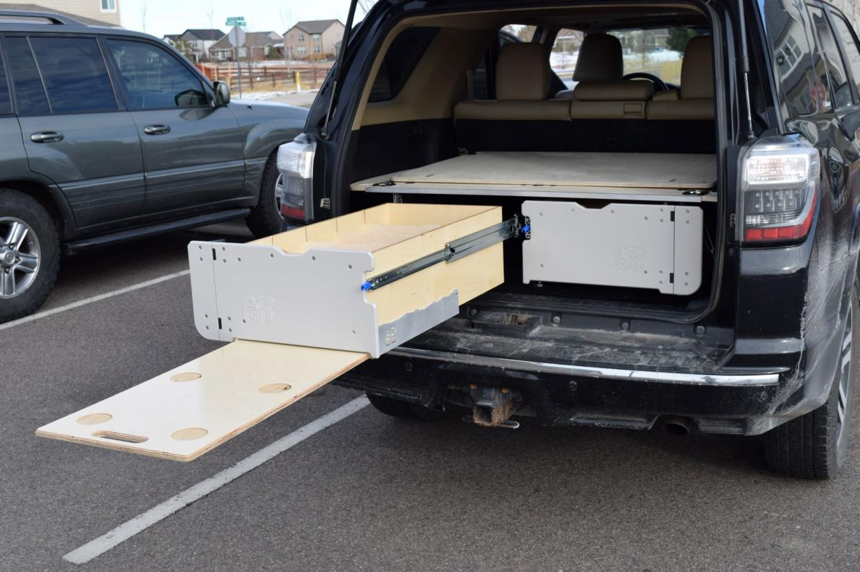 AirDownGearUp SS1: Storage, Sleeper and Drawer System for 5th Gen 4Runner-ext-table-detail-jpg