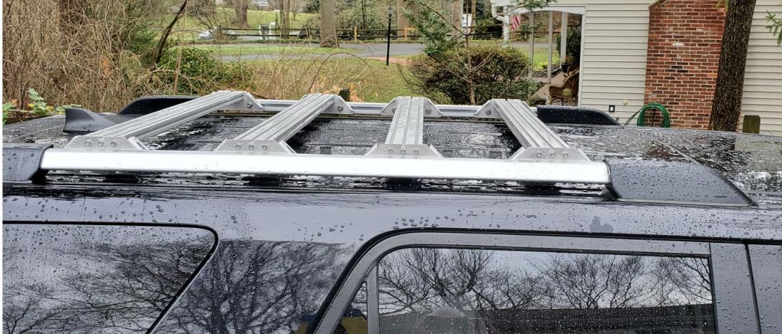5th Gen Aluminum Roof Rack Using OEM Siderails: NiseRack-rack3-jpg