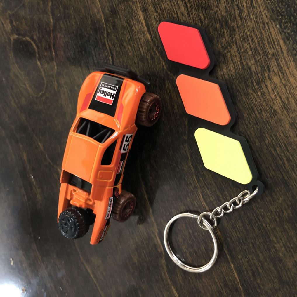 New Keychain and Hot Wheel! Ironman Stewart would be proud!-toyota-tricolor-keychain-hot-wheel-truck-jpg