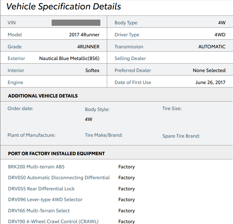 Toyota Off Road Premium with no emblems?-info-png