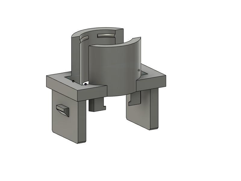 Custom hidden mic bracket for aftermarket head unit-5th-gen-4runner-alpine-mic-mount-new-tab-design-v3-jpg