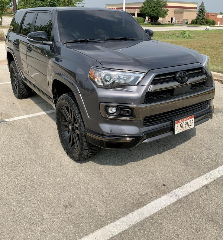 """2021 4Runner Limited: 2"""" front / 1"""" rear lift with 275/60R/20 tires ?-newtires2-jpg"""