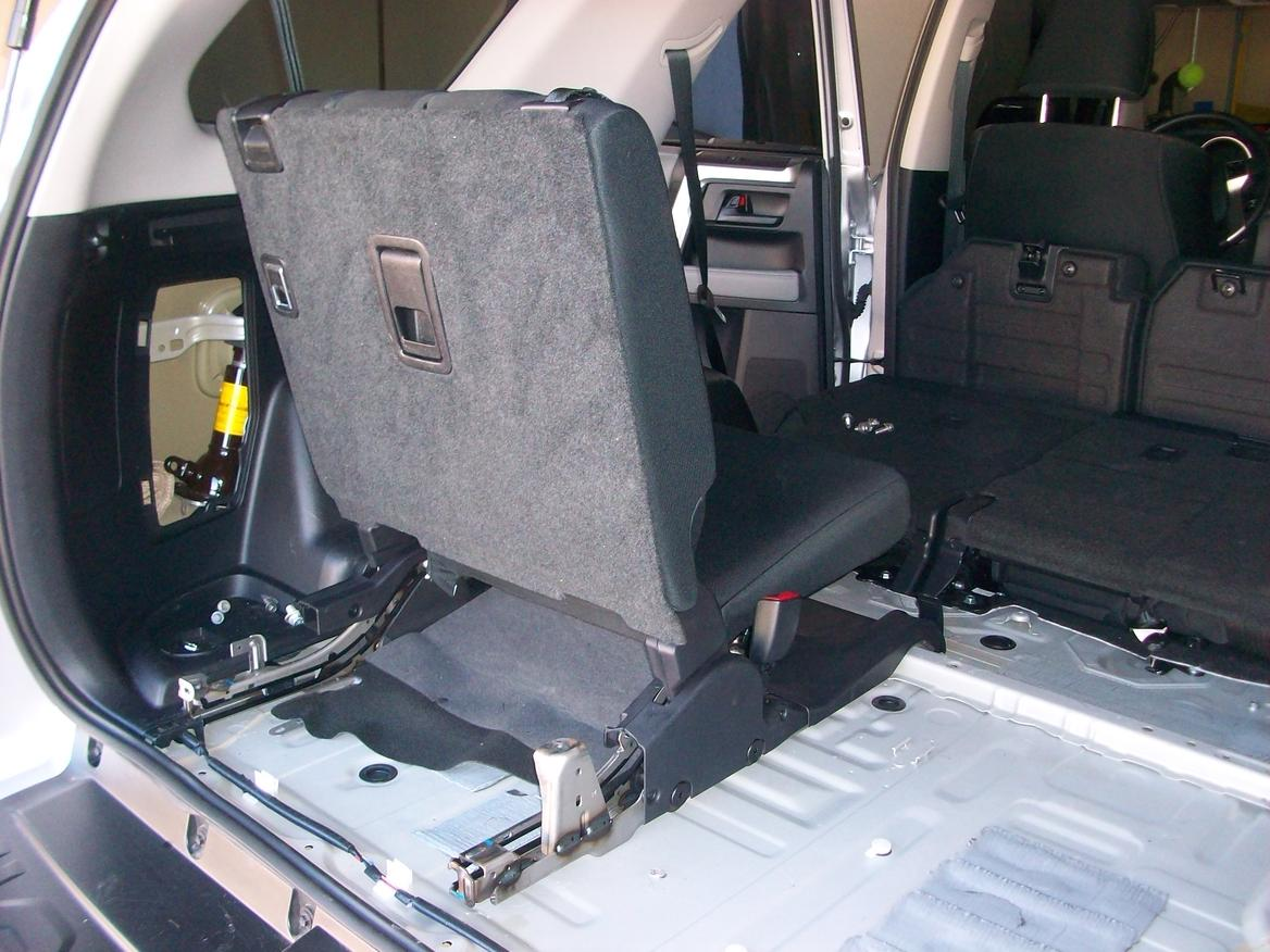 replaced sliding cargo tray with 3rd row seats toyota 4runner forum largest 4runner forum. Black Bedroom Furniture Sets. Home Design Ideas