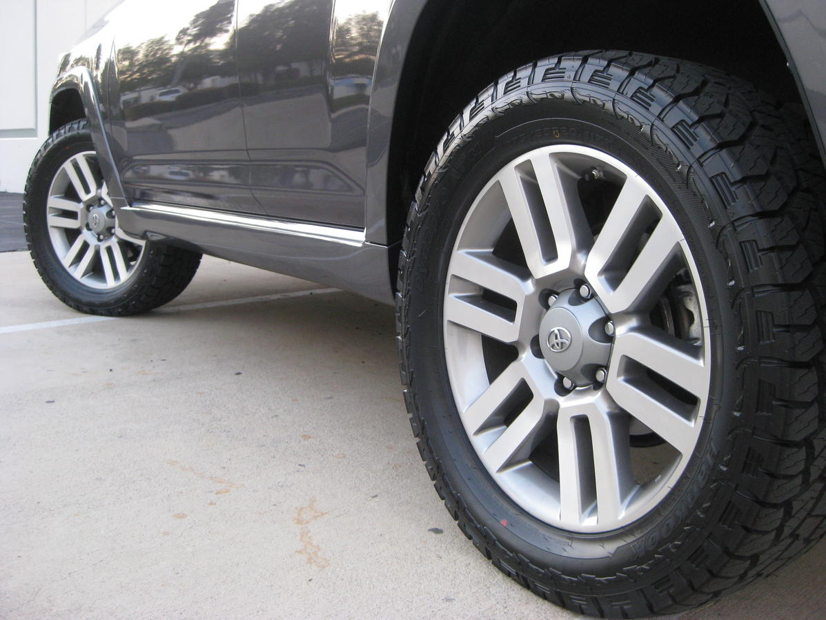 Need Advice On All Terrain Tires For 20in Limited Wheels Toyota
