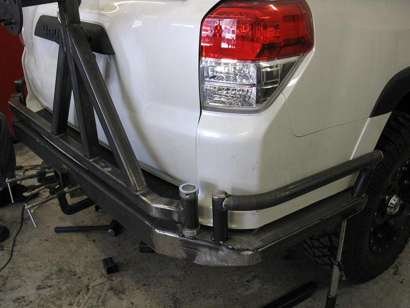 Addicted Offroad Bumper Tire Carrier Toyota 4runner