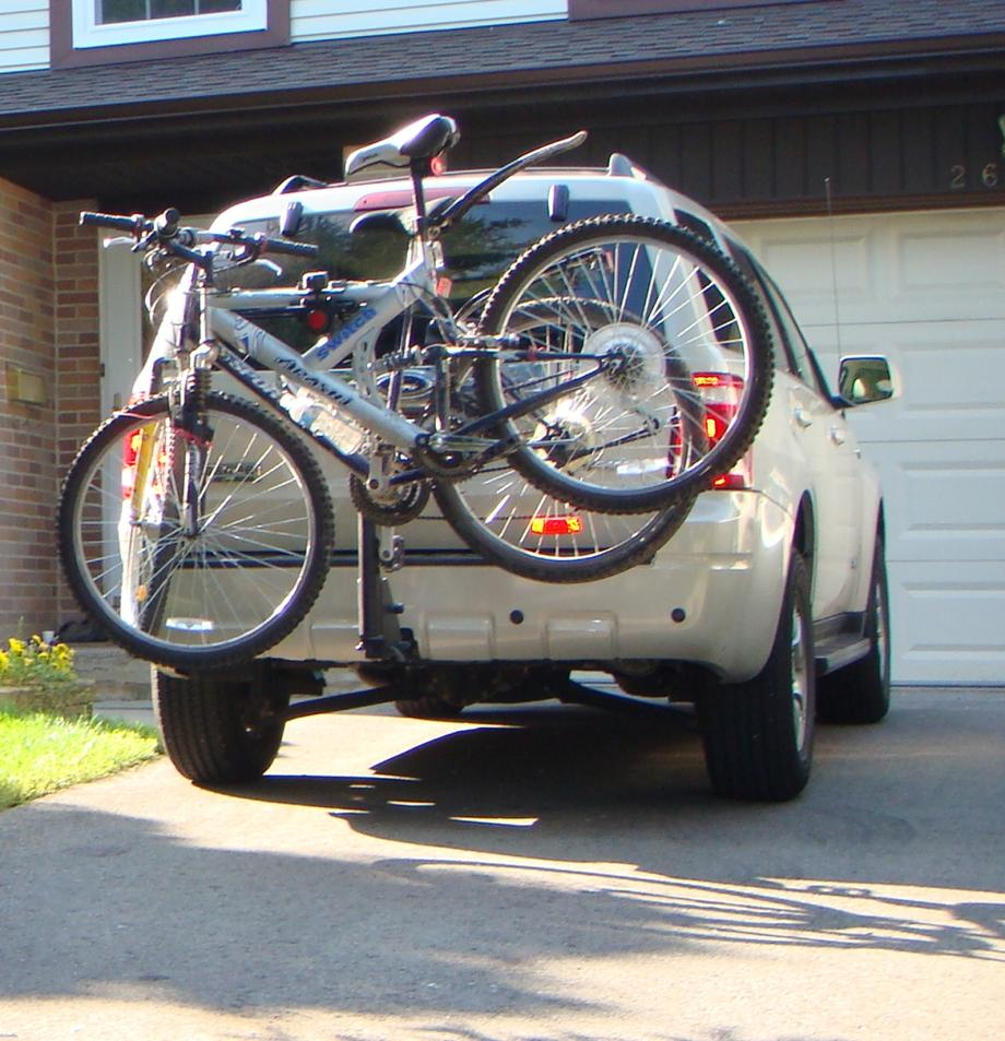 Bike Rack For Trailer Hitch bikerack escape jpg