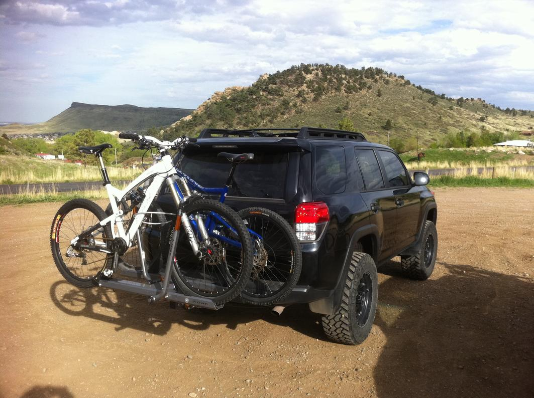 Hitch Mounted Bike Rack Page 2 Toyota 4runner Forum
