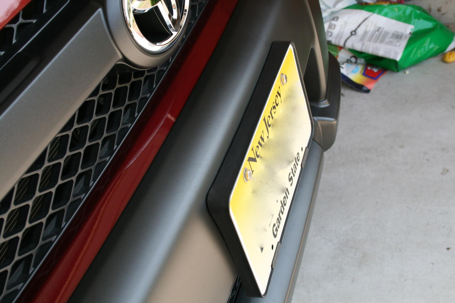 Front License Plate mounting....? - Toyota 4Runner Forum - Largest ...