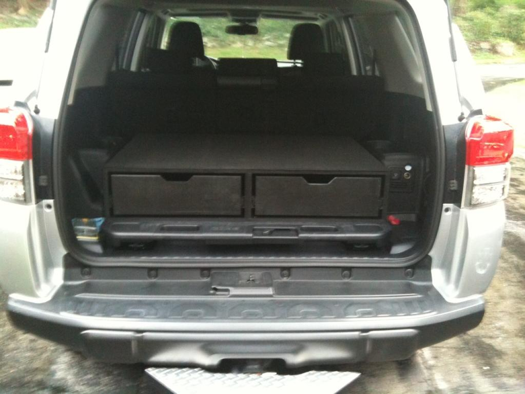 5th gen 4runner drawer system