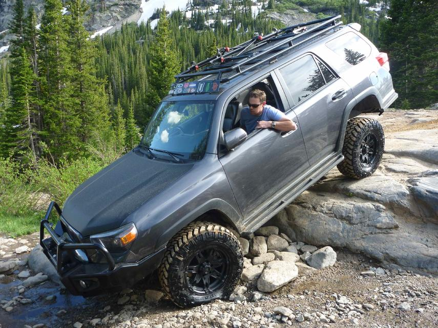 Toyota 4 runner off road parts submited images
