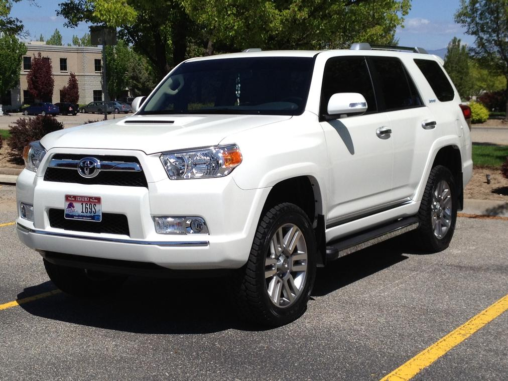 Pearl White Trail Edition Conversion Page 3 Toyota