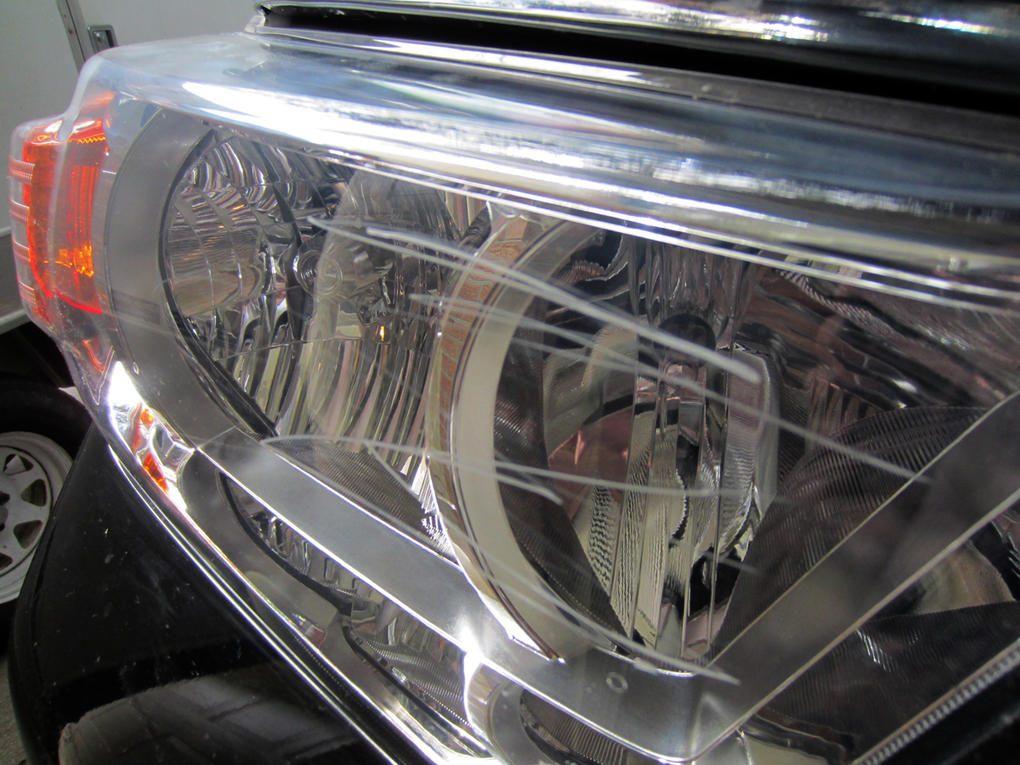 Just Badly Scratched My Headlight Lens Toyota 4runner