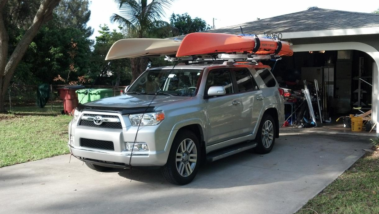How To Load Kayak Toyota 4runner Forum Largest