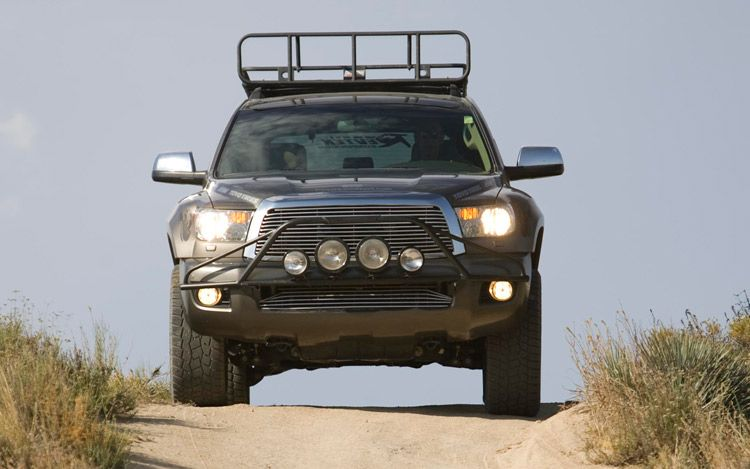 Off Road Toyota Sequoia