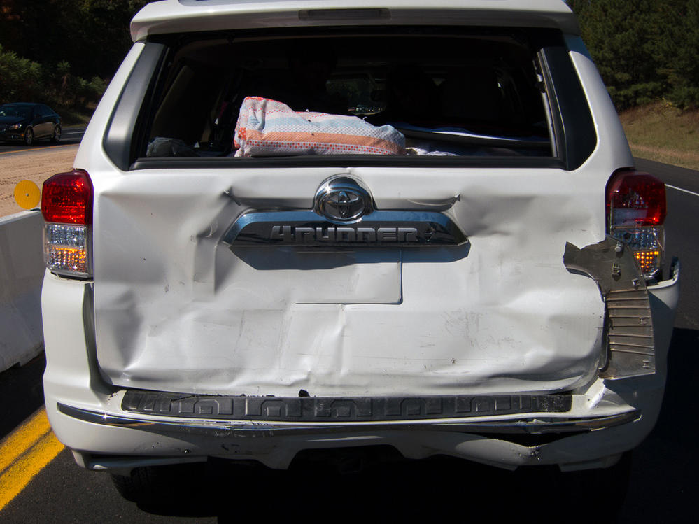 Rear Ended This Weekend Thoughts Toyota 4runner Forum