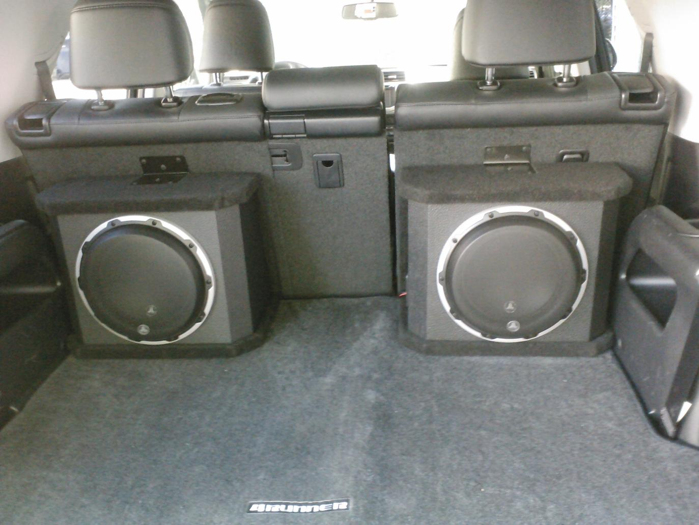 Factory Rear Subwoofer Parts Toyota 4runner Forum