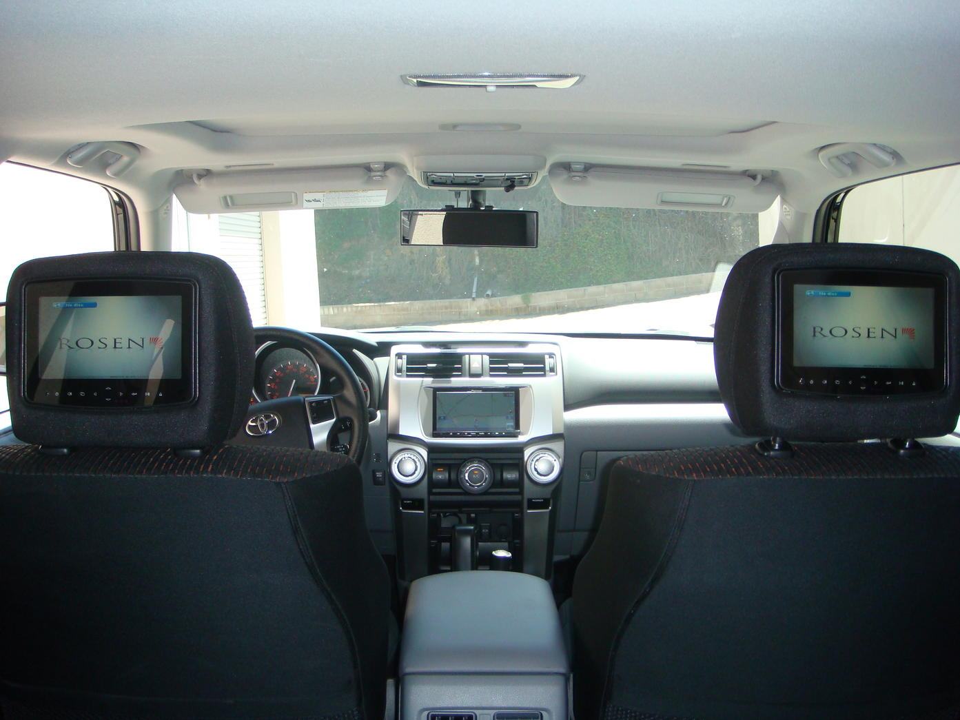rosen headrest dvd install toyota 4runner forum. Black Bedroom Furniture Sets. Home Design Ideas