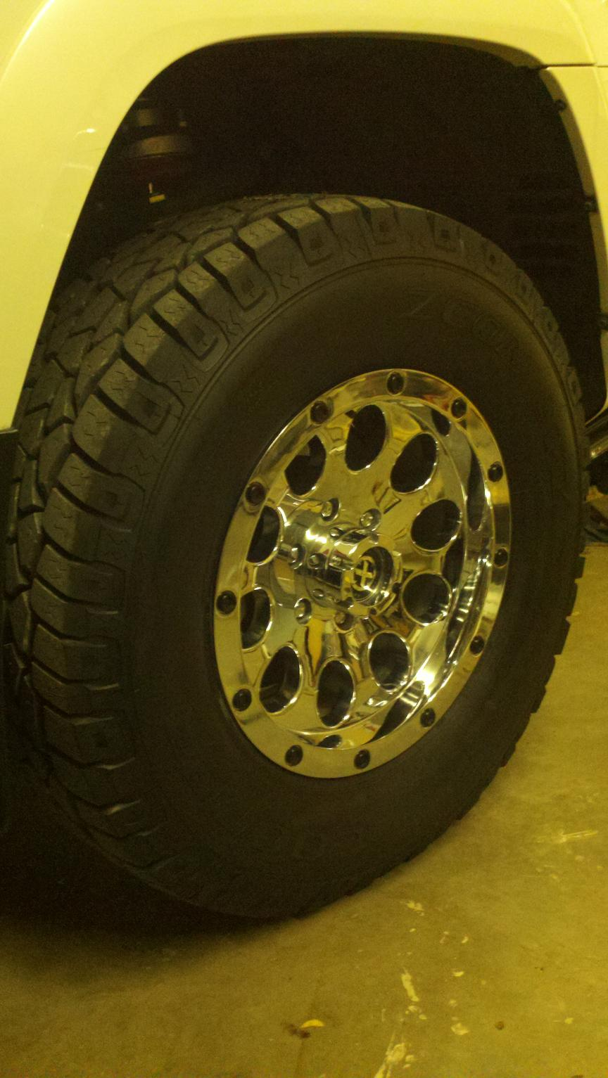 Cooper Zeon Ltz Lt285 70 17 Tire Pics Toyota 4runner Forum Largest 4runner Forum