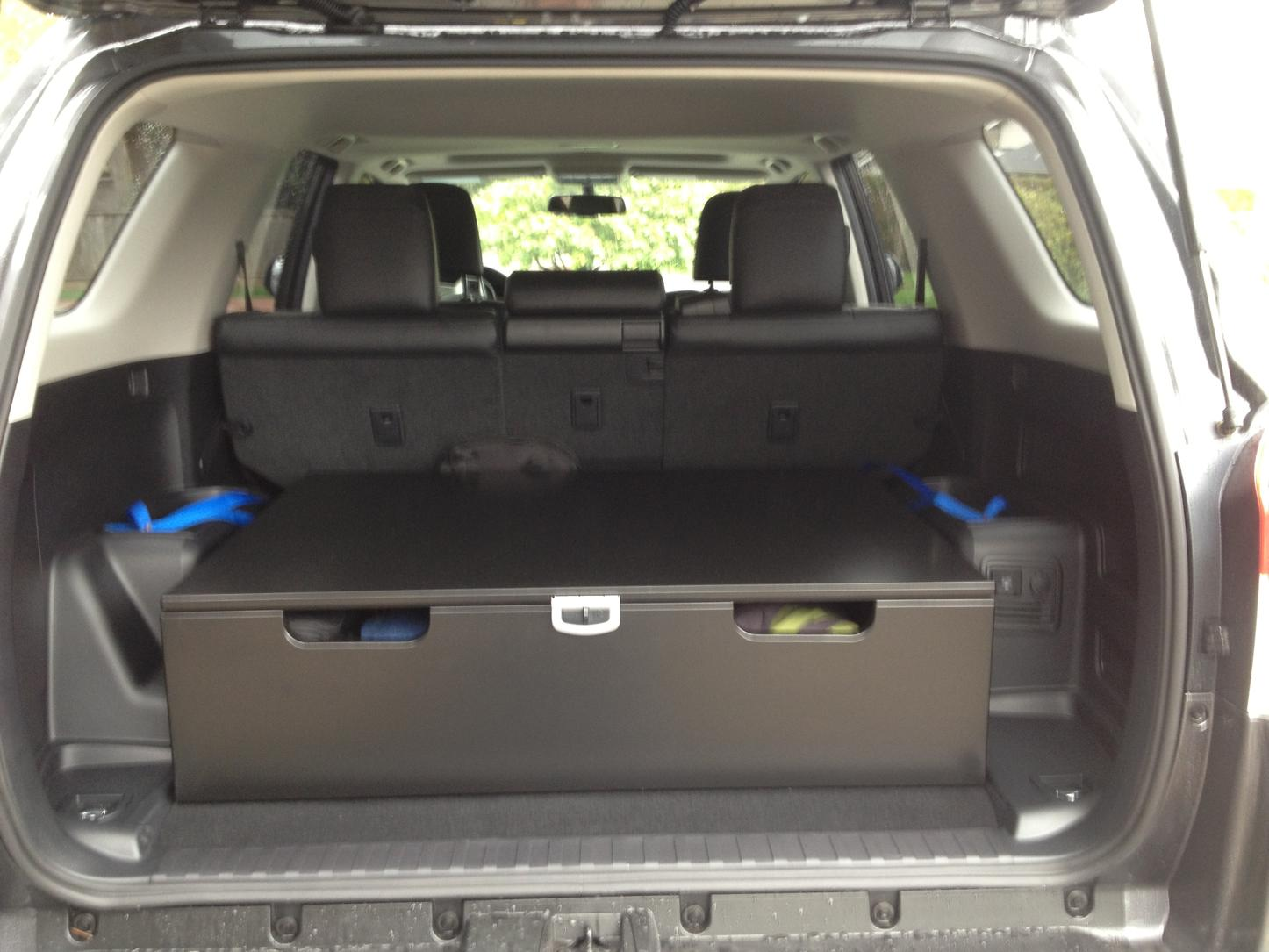 4runner Cargo Storage Pictures To Pin On Pinterest Thepinsta