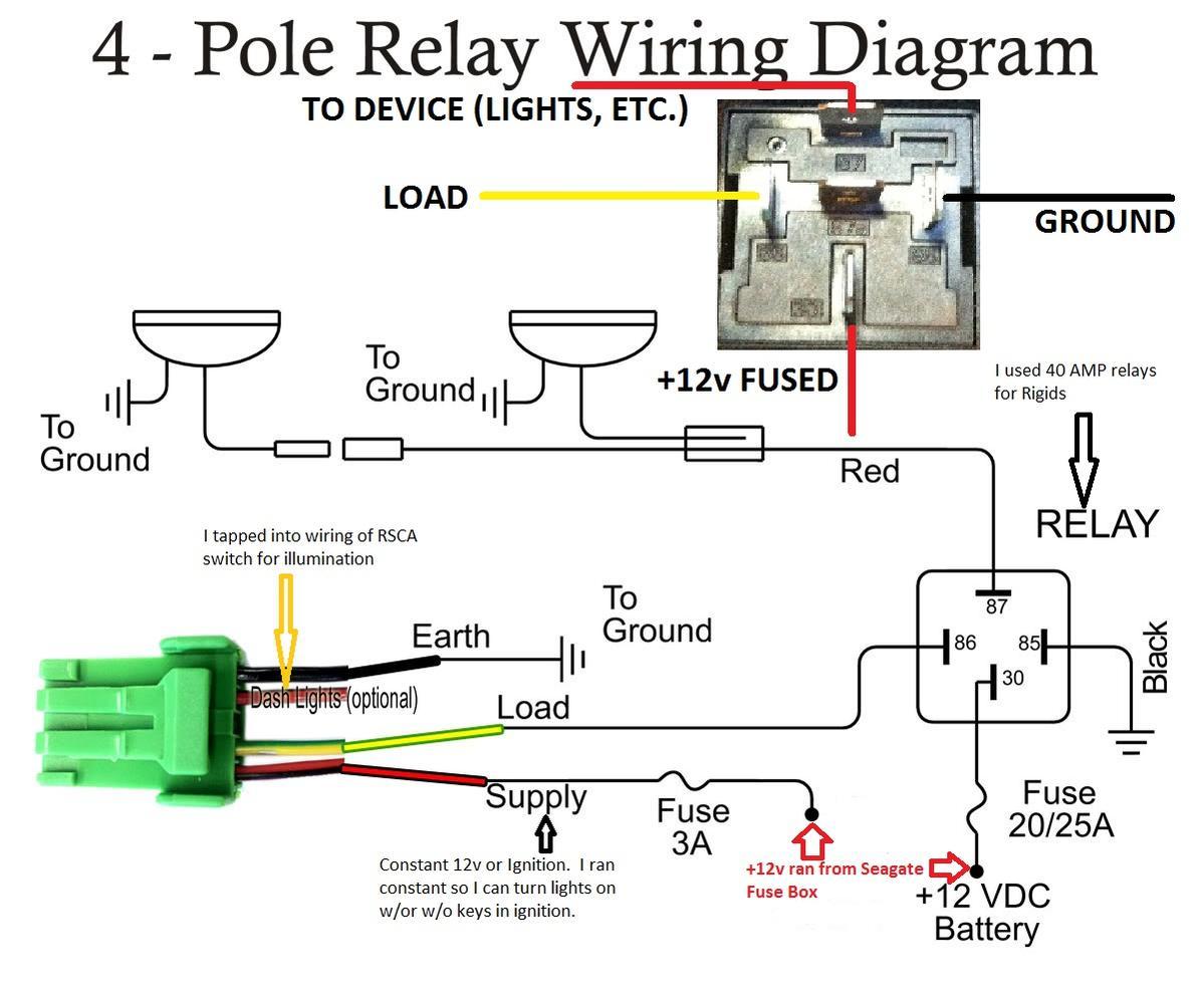 shawn719 plagiarism slow build page 5 toyota 4runner forum 4 polerelaydiagram1ab jpg views 1961 size 110 4 kb
