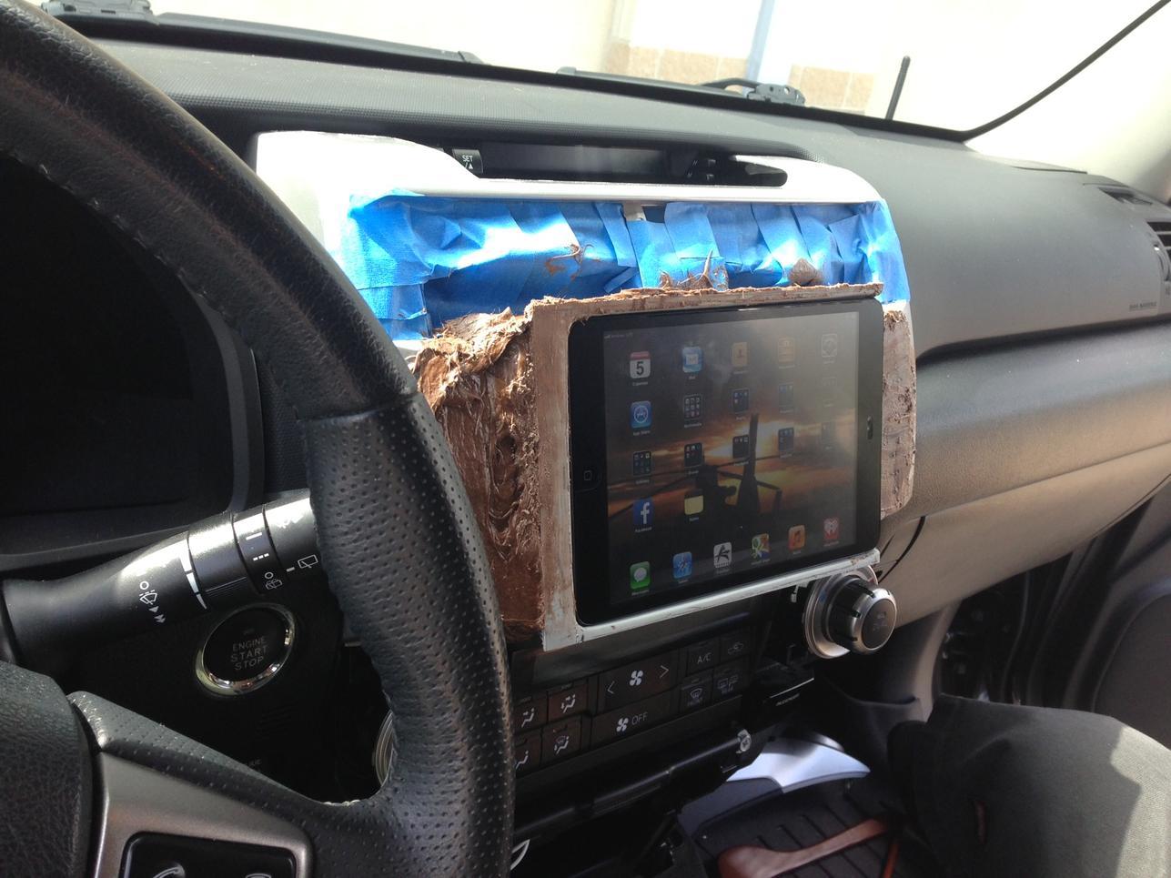 iPad Mini In Dash? - Page 3 - Toyota 4Runner Forum ...