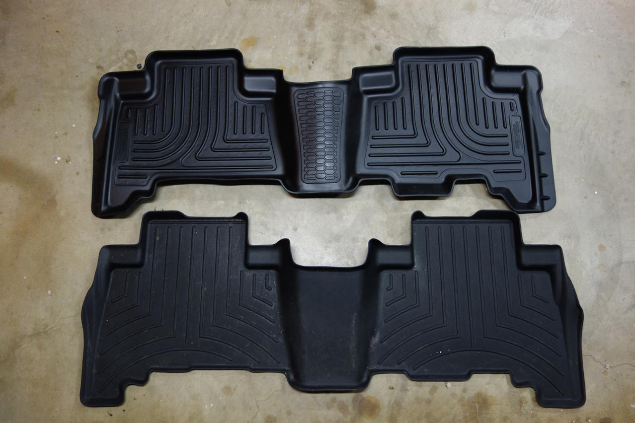 top 28  - weathertech floor mats or husky