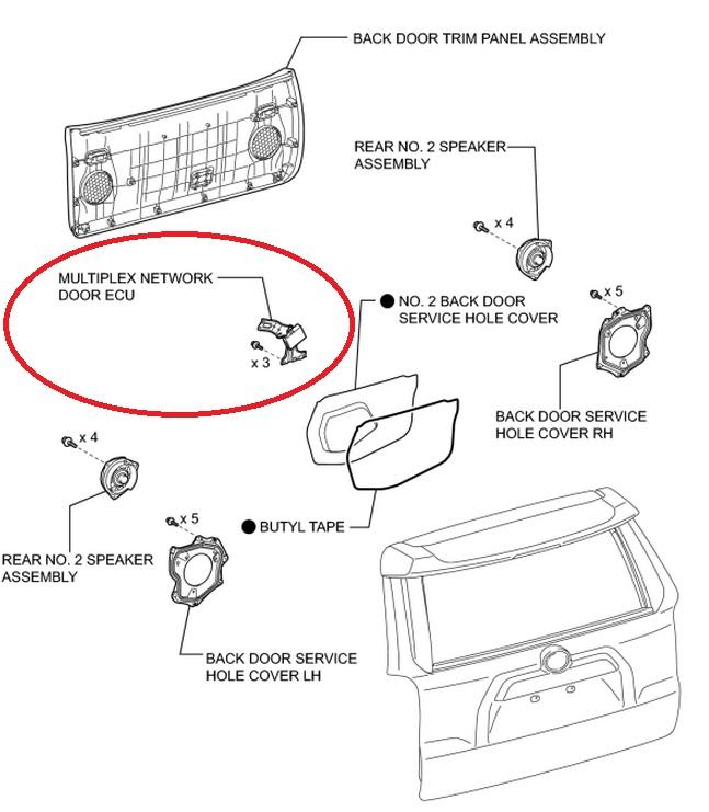 2005 Dodge Grand Caravan Power Door Lock Problem Service Bulletin 08
