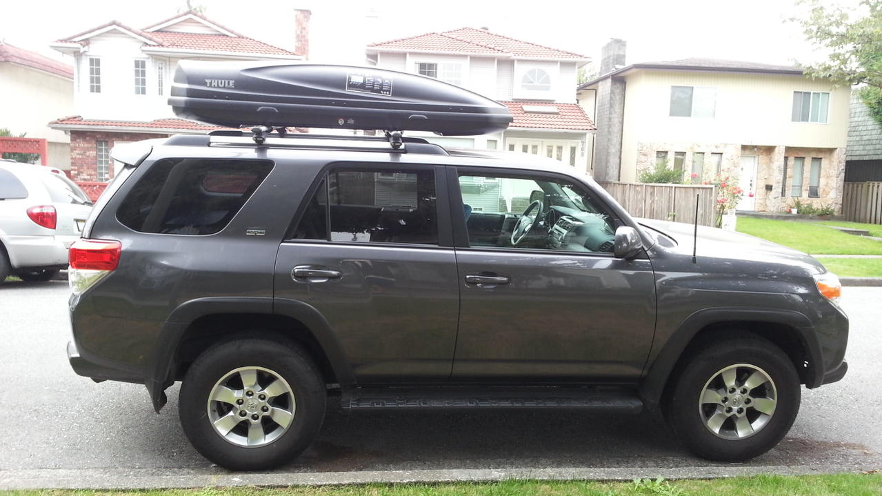 Photos Of Rooftop Cargo Boxes Page 3 Toyota 4runner