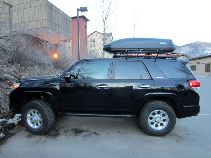 Photos Of Rooftop Cargo Boxes Page 3 Toyota 4runner Forum Largest 4runner Forum