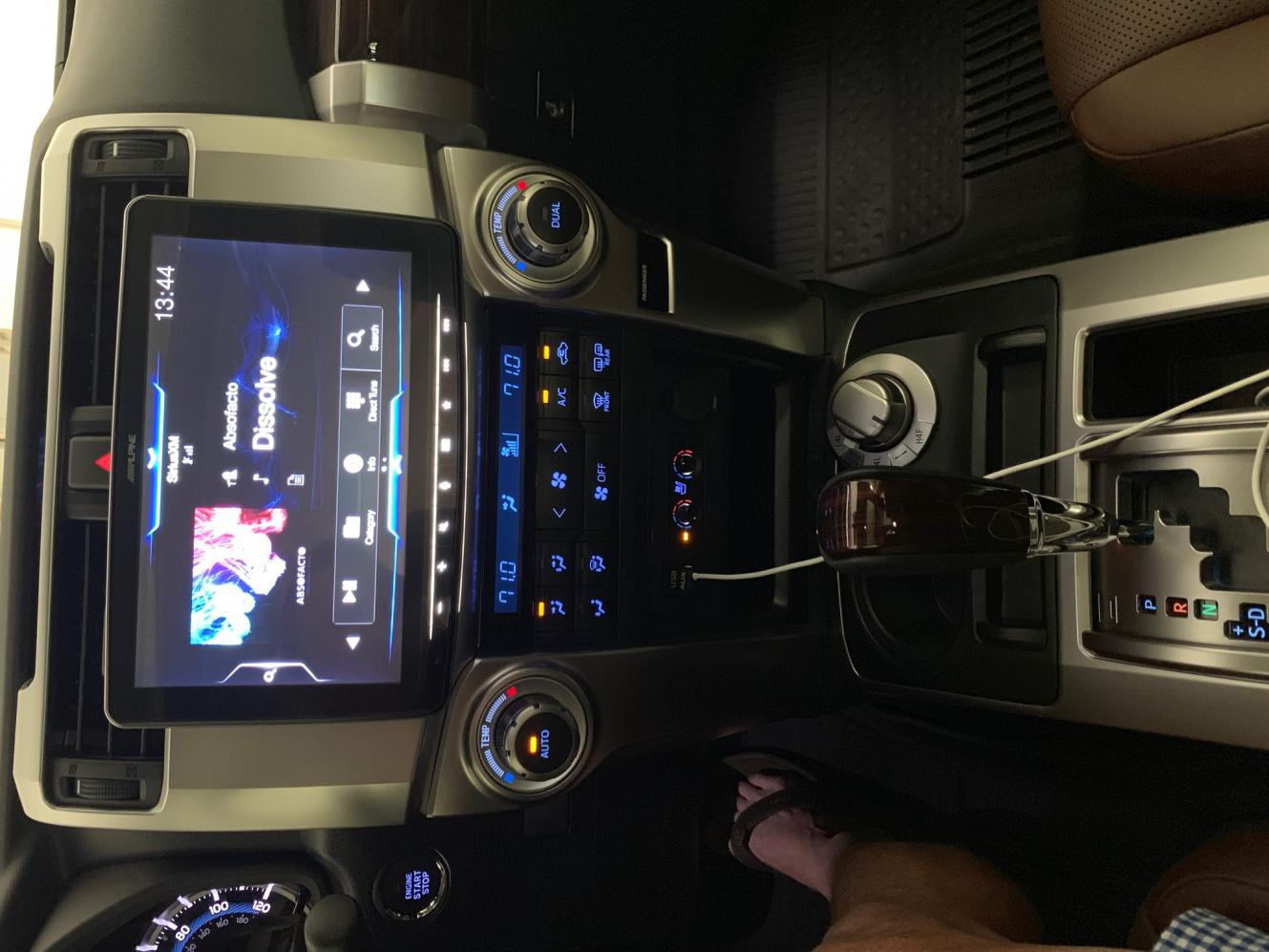 You think the Apple CarPlay Radio will mount into the 5th gen?-img_0012-jpg