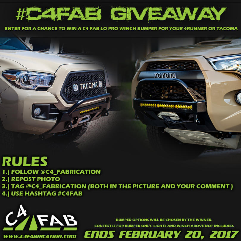 C4 FAB Lo-Pro winch bumper GIVEAWAY!-lo-pro-contest-2-jpg